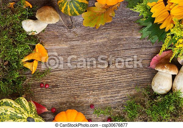 Fall frame - csp30676877