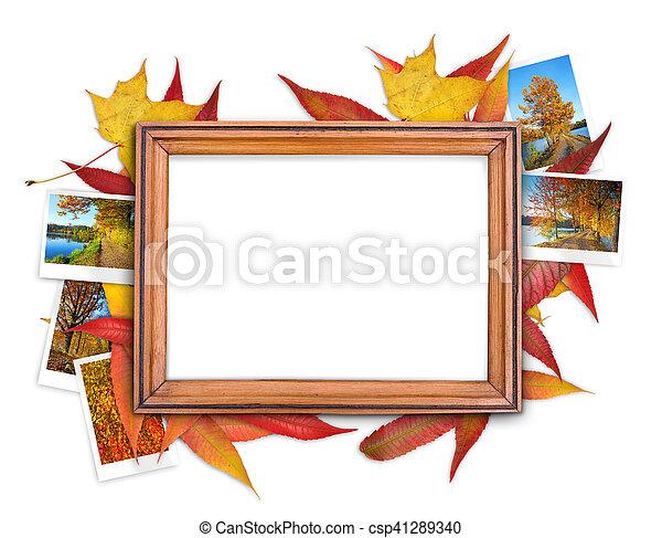 Fall frame - csp41289340