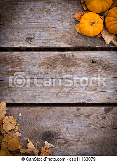 Fall harvest background - csp11163079