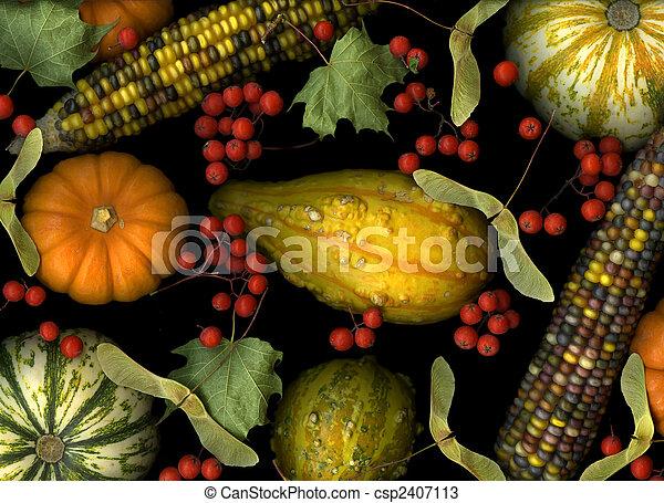 Fall Harvest - csp2407113