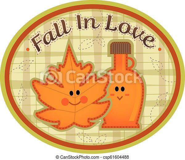 Fall in Love - csp61604488
