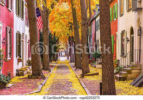 Fall in Philadelphia - csp42253270