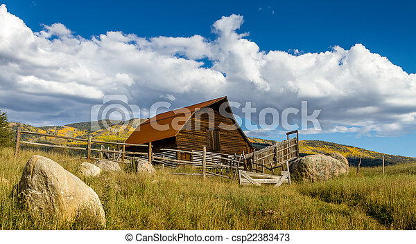 Fall in Steamboat Springs Colorado - csp22383473