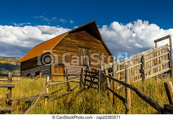 Fall in Steamboat Springs Colorado - csp22383571