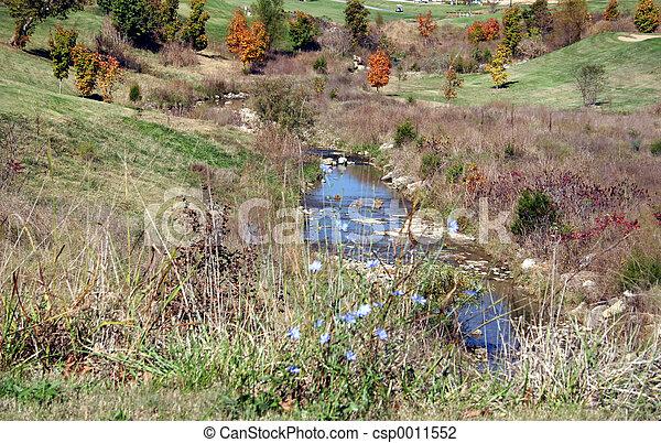 Fall landscape - csp0011552