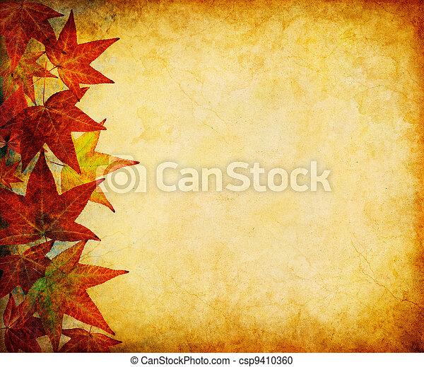 Fall Leaf Margin - csp9410360