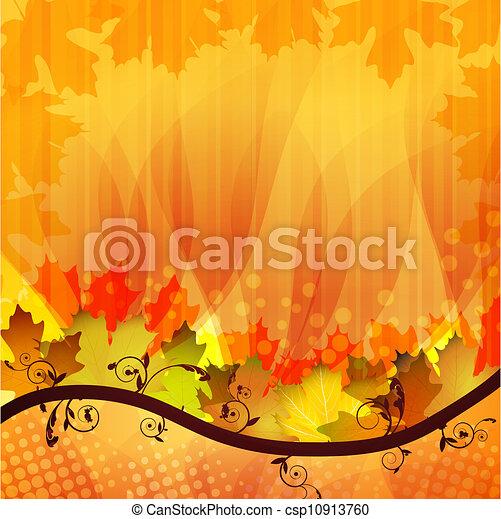 Fall leafs - csp10913760