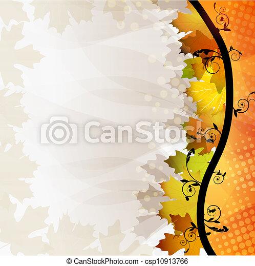 Fall leafs - csp10913766