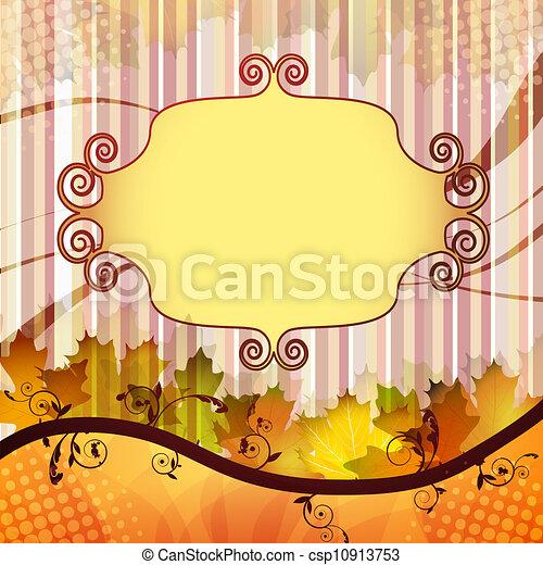 Fall leafs  - csp10913753