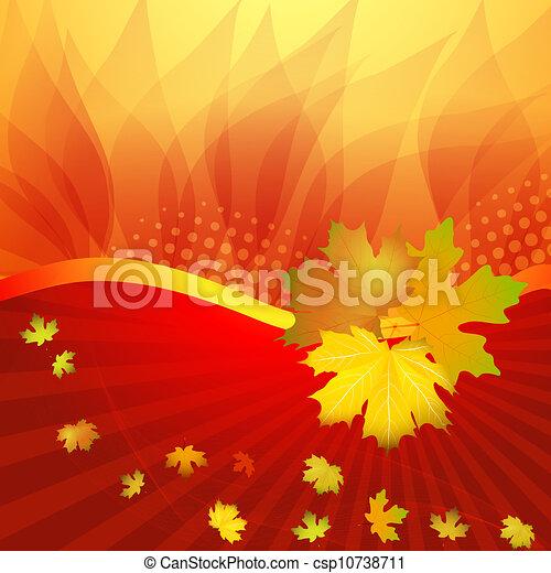 Fall leafs  - csp10738711