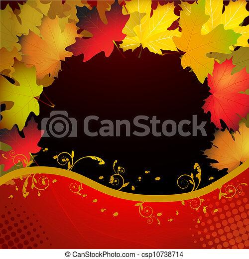 Fall leafs  - csp10738714