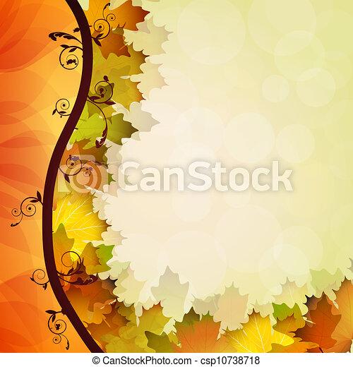 Fall leafs  - csp10738718