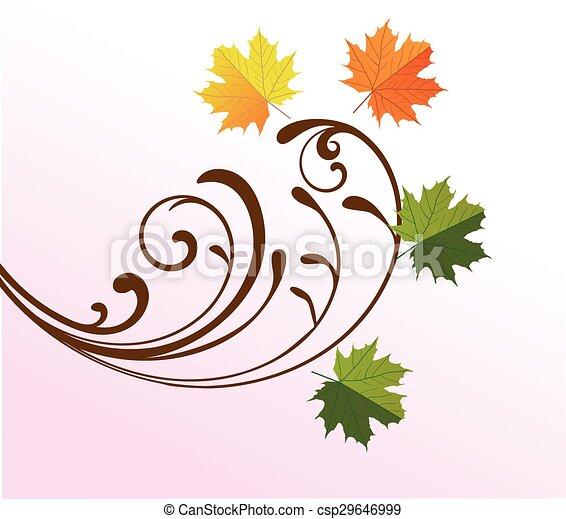 fall leaves - csp29646999
