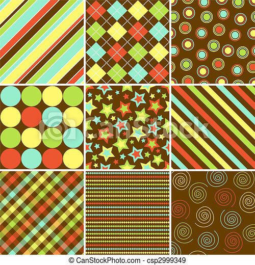 Fall Patterns - csp2999349