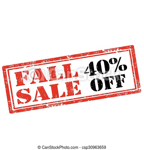 Fall Sale - csp30963659