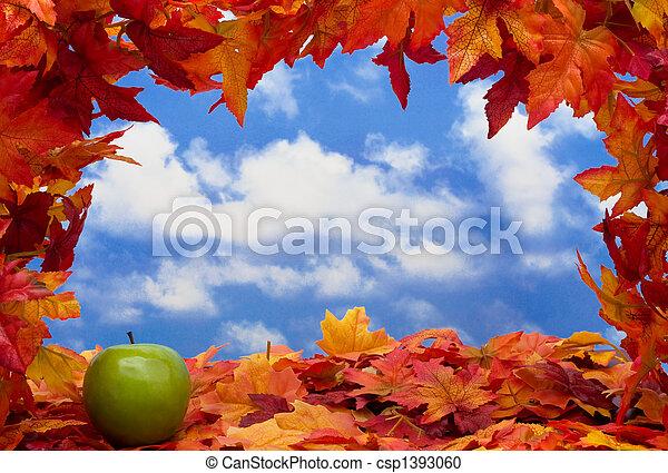 Fall Scene - csp1393060