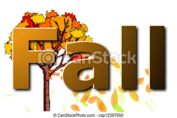 Fall - csp12397650