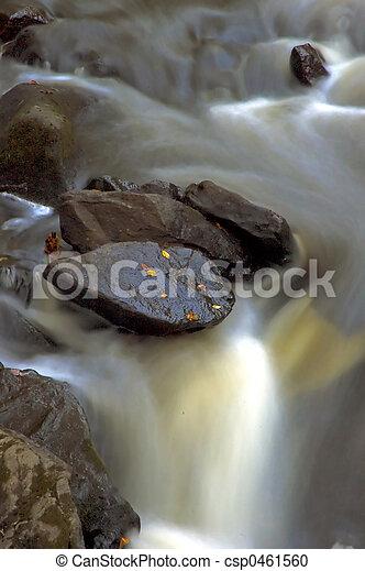 Fall Waterfall - csp0461560