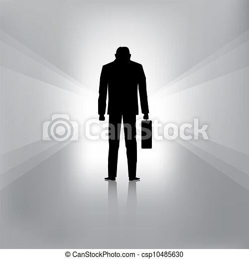 El hombre de negocios falla - csp10485630