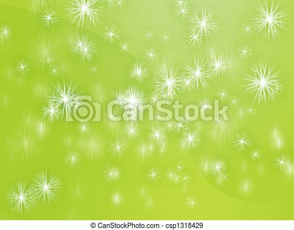 Falling snowflakes - csp1318429