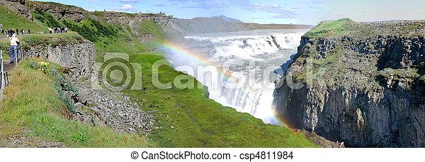 Falls Gulfoss - csp4811984