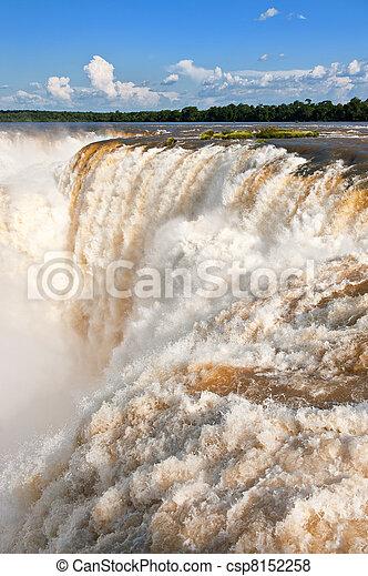 Cae Iguazu. - csp8152258