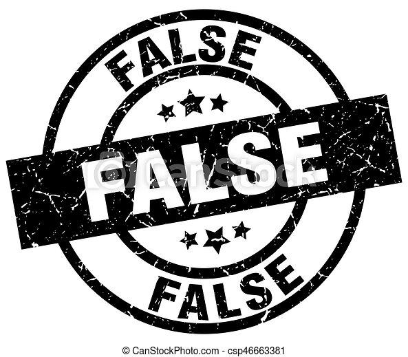 false round grunge black stamp - csp46663381
