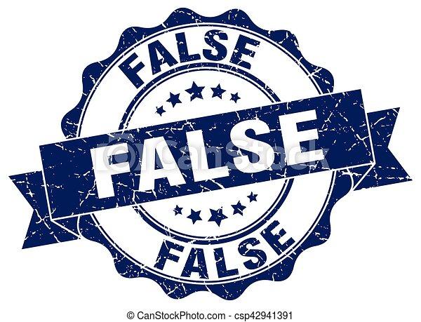 false stamp. sign. seal - csp42941391