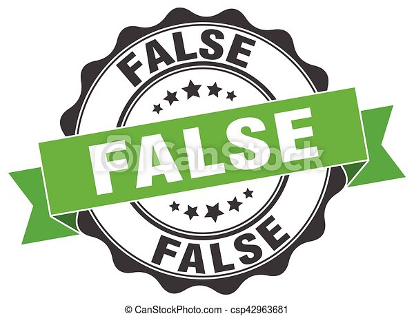 false stamp. sign. seal - csp42963681