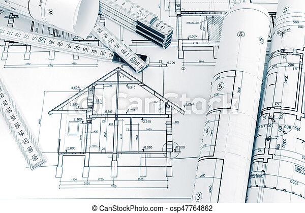 Suche Architekten falten pläne lineal architekten technik arbeitsbereich