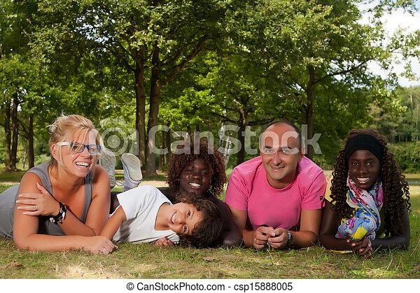 família grama, étnico - csp15888005