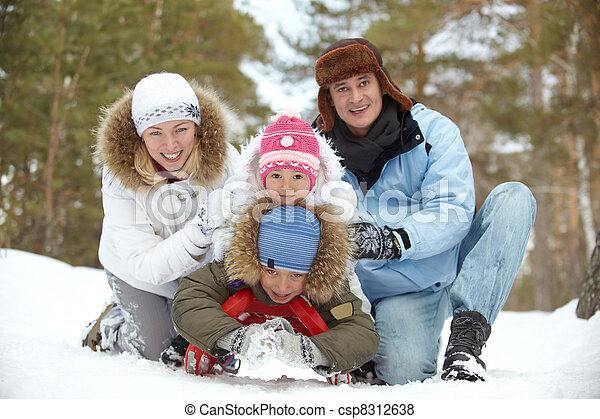 família, lazer - csp8312638