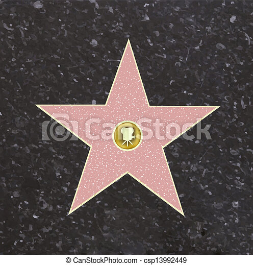 El camino de la estrella de la fama - csp13992449