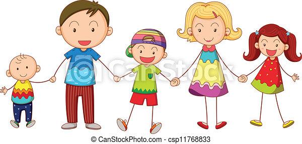 famiglia - csp11768833