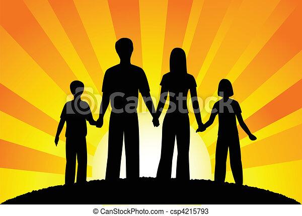 famiglia - csp4215793