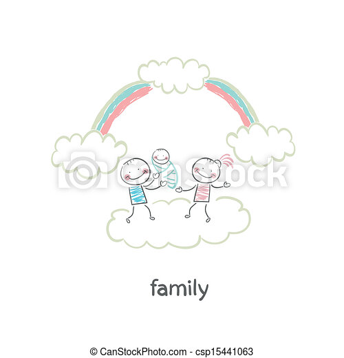Familia - csp15441063
