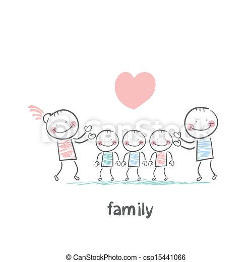 Familia - csp15441066