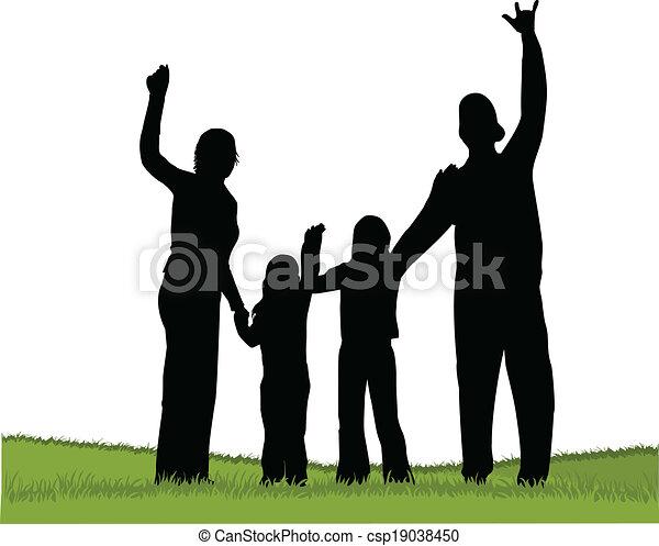 Familia - csp19038450