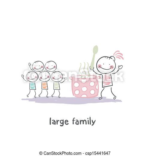 Familia - csp15441647