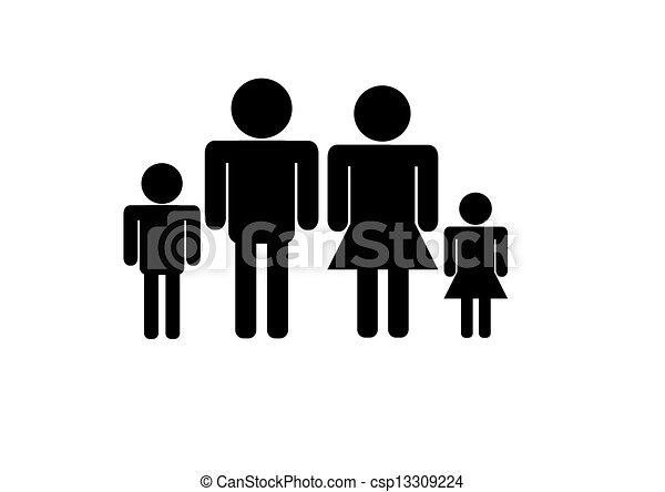 Familia - csp13309224
