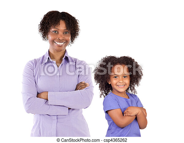 familie, african-american - csp4365262