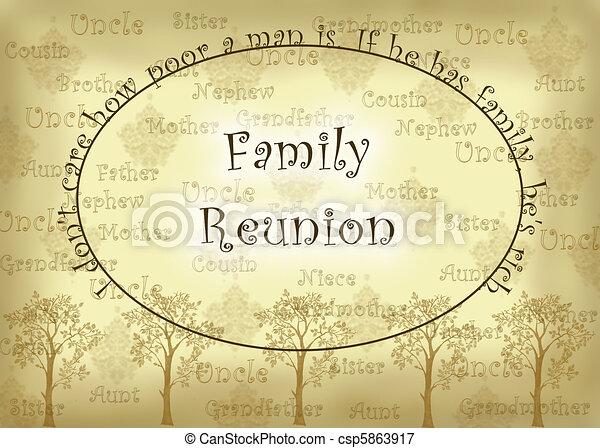 familie hereniging - csp5863917