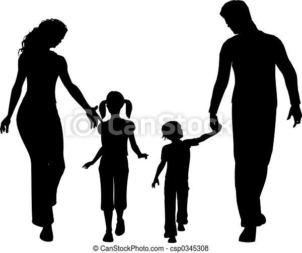 Familie - csp0345308