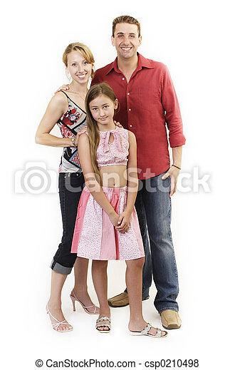 famille heureuse - csp0210498