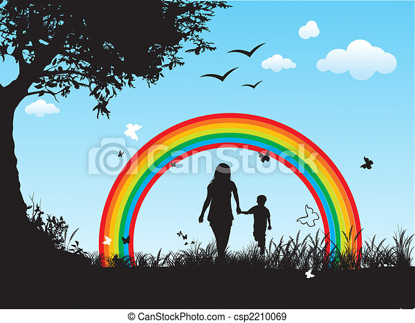 famille, heureux - csp2210069