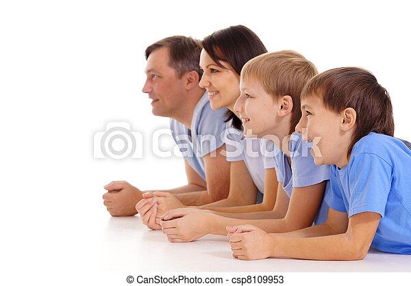famille, quatre - csp8109953