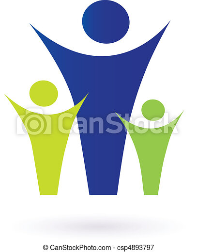 Family And Community Pictogram - csp4893797
