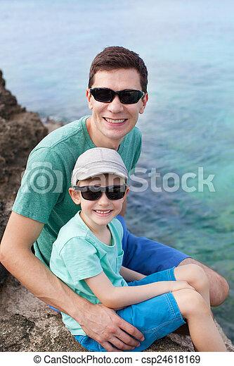 family at vacation - csp24618169
