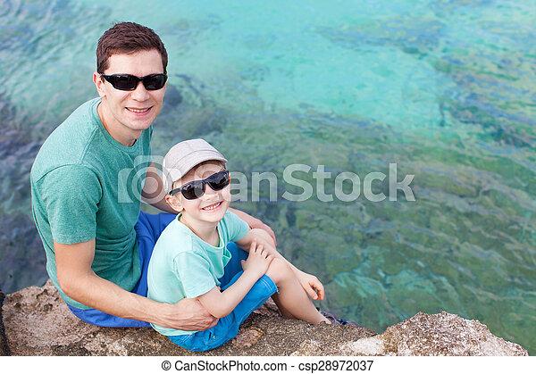 family at vacation - csp28972037