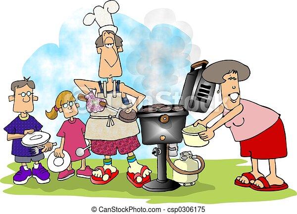 Family BBQ - csp0306175